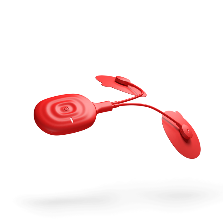 Mynd Powerdot Uno 2.0 raförvun rautt