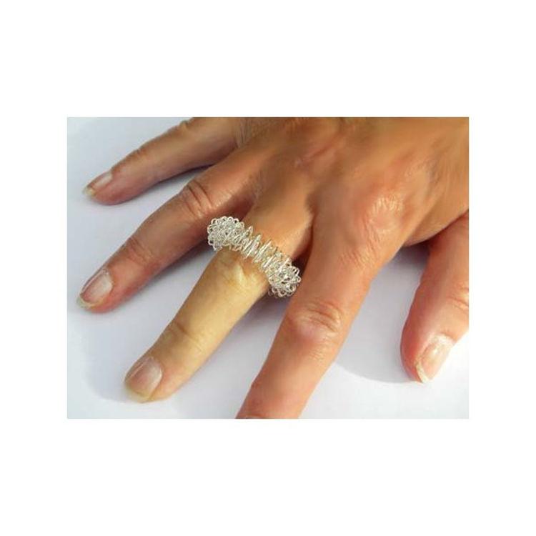 Mynd Þrýstipunktahringur fingra