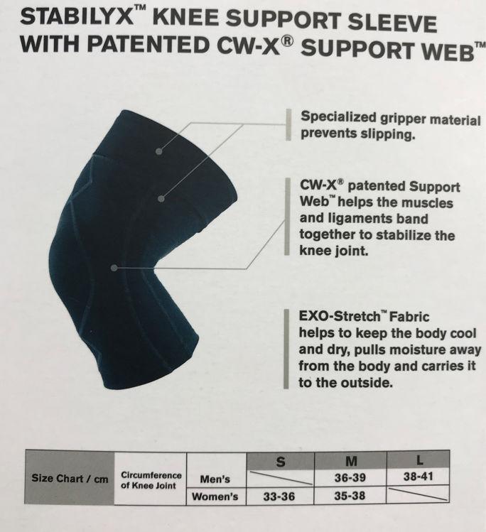 Mynd CWX Stabilyx hnéhlíf herra