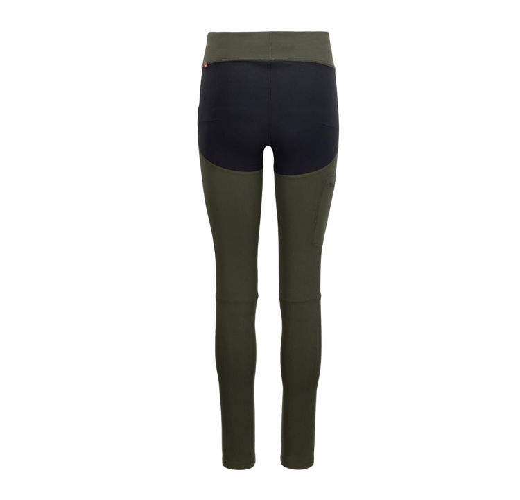 Mynd Tufte Hiking Tights kvenna grænar