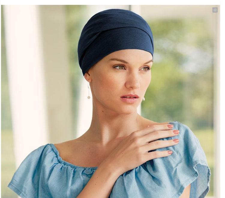 Mynd Christine - Zoya - V-turban - Black Iris