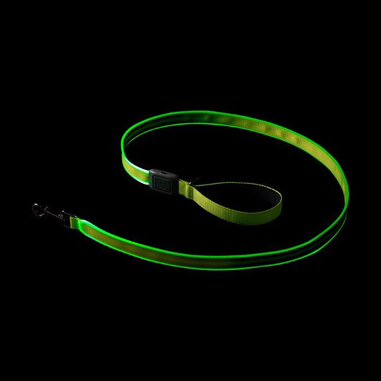 Mynd Nite Ize NiteDog LED taumur endurhlaðanlegur grænn