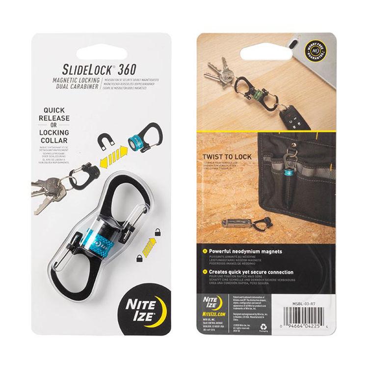 Mynd Nite Ize Slidelock360 -Blue