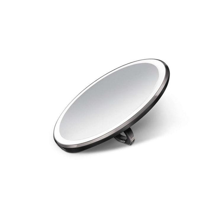 Mynd simplehuman Sensor 3X ferðaspegill 10cm Black